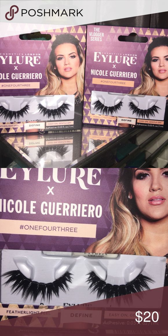 Nicole Guerriero Eylure OneFourThree lashes Out of Stock everywhere !!!! These are incredible ! Price for 1 Sephora Makeup