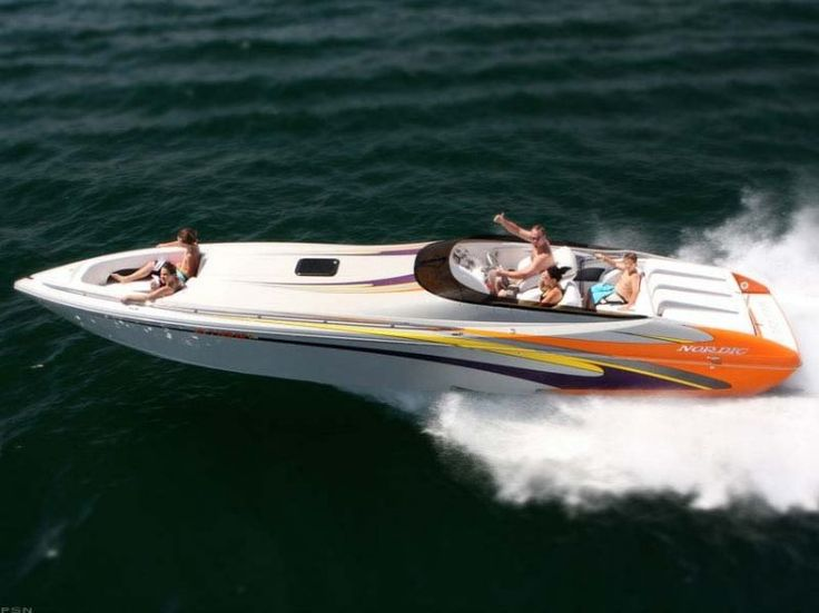 New 2012 Nordic Power Boats 35 Flame High Performance Boat Photos- iboats.com 1