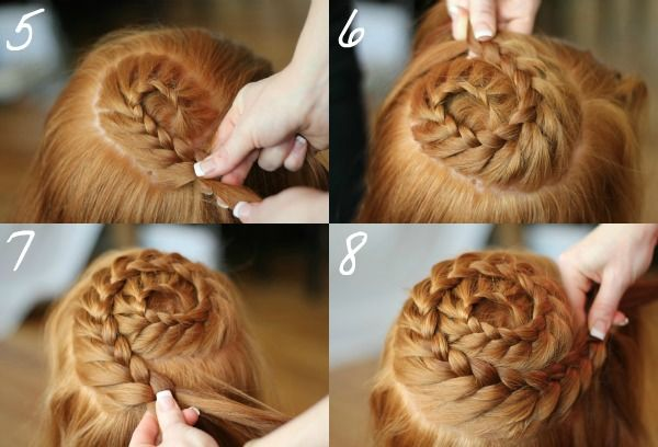 Spiral Head Braid- I am so trying this on my little girl!