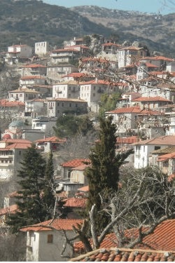 Beautiful Dimitsana village in Arcadia (peloponnese)