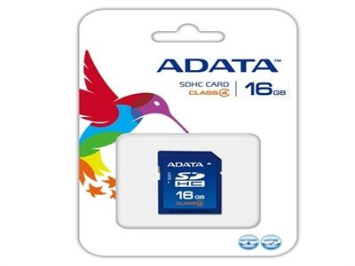 ADATA FLASH CARD 16GB SDHC CLASS 4 RETAIL -  - http://sellitsocially.co.uk/adata-flash-card-16gb-sdhc-class-4-retail/