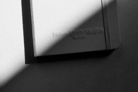 Picture of Maison Martin Margiela Limited Edition All-White Moleskine Notebook
