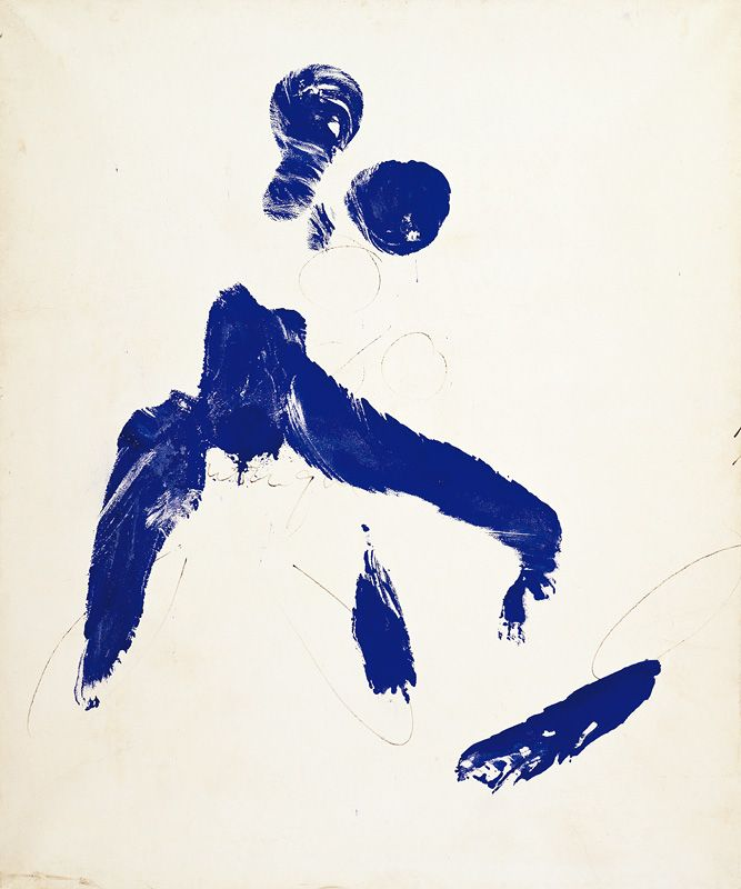 Yves Klein | Painting Performance Paint