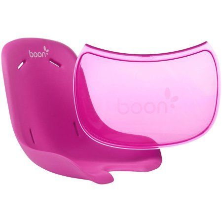 Boon Flair Seat Pad & Tray Liner Combo, Pink