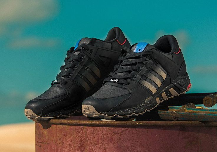 "Highs and Lows x Adidas EQT Support 93 ""Interceptor"""