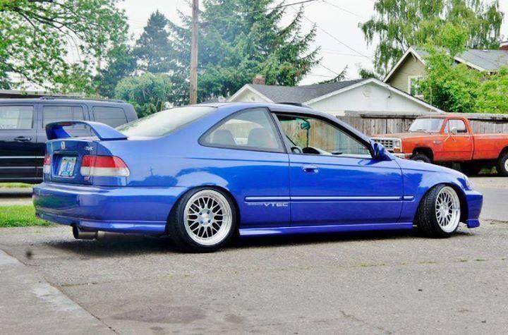 Honda Civic SI 1999 JDM
