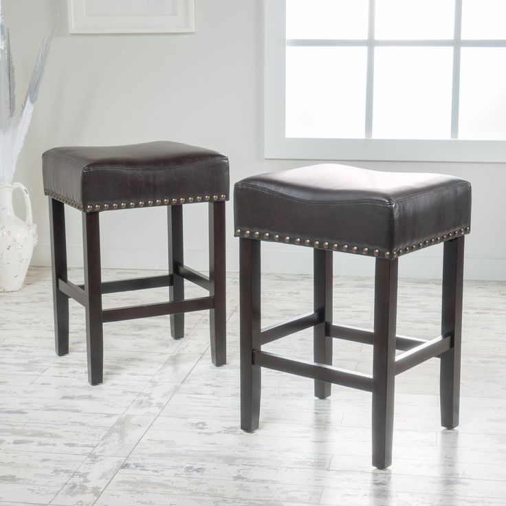 Belham Living Hutton Leather Backless Saddle Counter Stool: Best 25+ Leather Counter Stools Ideas On Pinterest