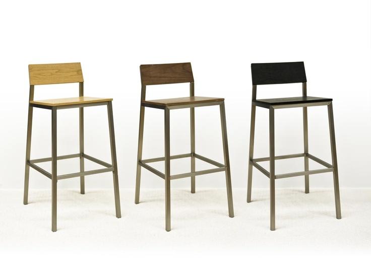 METTE Barstol Ek i gruppen Inomhus / Stolar / Barstolar hos Furniturebox (100-10-18125)