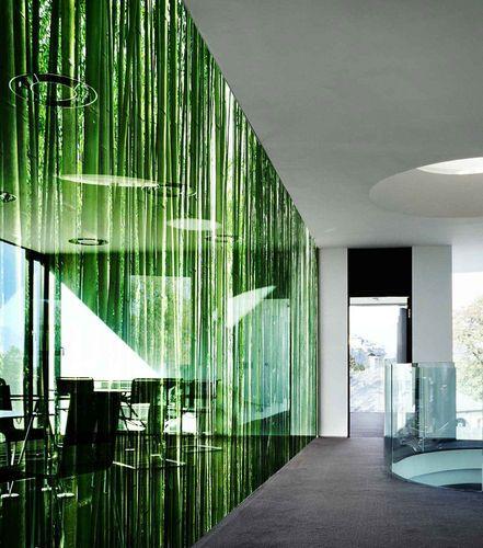 Digital Printed Glass Panel Litex Pix Glassolutions