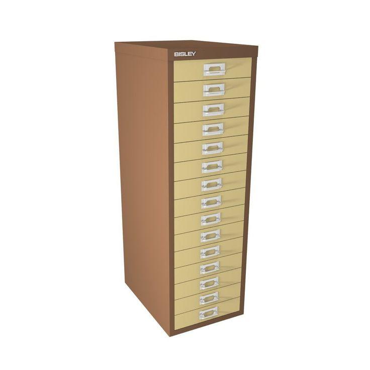 bisley 15 multi drawer filing cabinet bar cabinet