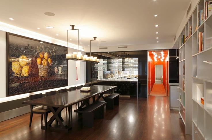 Adrian Wilson Photography: Dining Rooms, Soho Apartment, Dreams Houses, 50 Bond, Design Interiors, Modern Rooms, Interiors Design, Soho Dining, Rooms Eatchatdrink