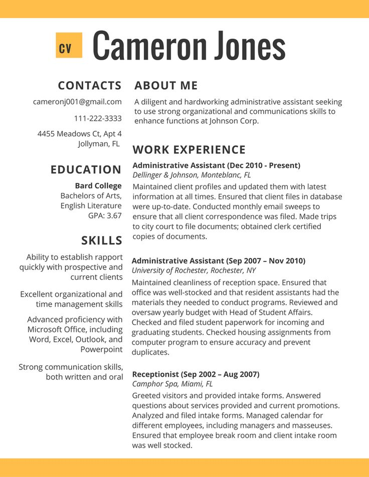 Pin by Bilal Izhar on Cv Service UK Job resume examples