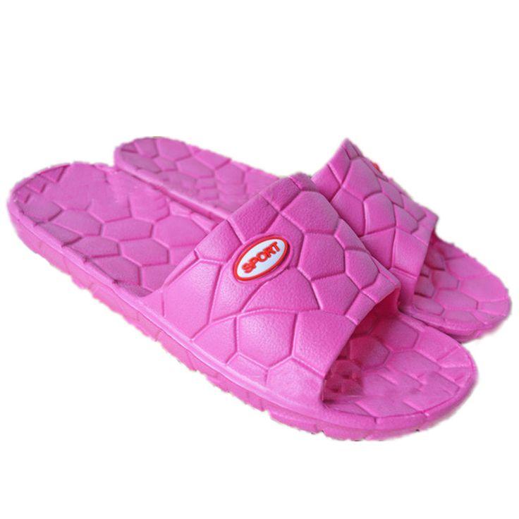 Мода Женская Обувь Водный Куб Летние Дома Квартиры Ванная Сандалии Флип Folps Массаж Тапочки