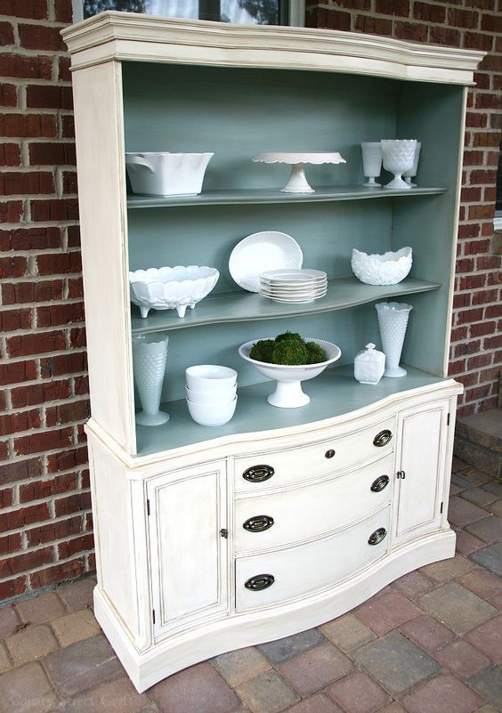 Repurposed Old Furniture Thanks To Diy Painting Projects                                                                                                                                                     More