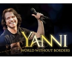 Yanni Concert Tickets for Sale in Dubai