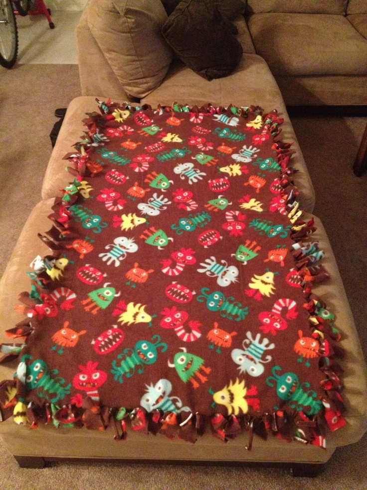 I Love Making These Blankets Put 2 Pieces Of Felt Of The