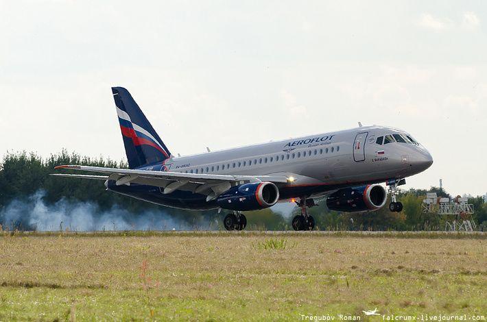 Лента новостей сделано в России - страница 2 - Сделано у нас. Авиакомпании «Аэрофлот» передан очередной самолёт Sukhoi Superjet 100.