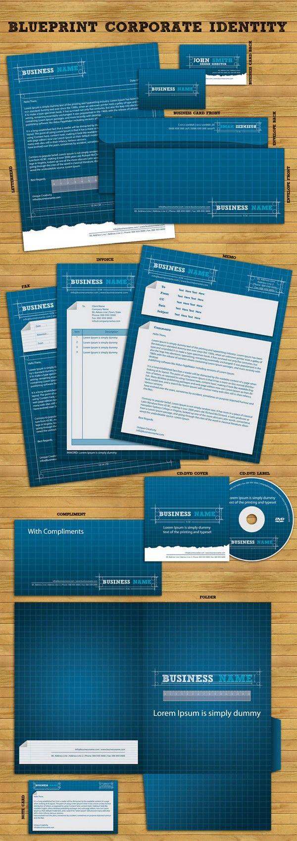 Blueprint corporate identity