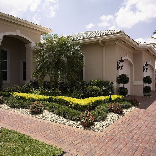 Best Front Yard Of Florida Images On Pinterest Tropical - Florida landscaping ideas for front yard
