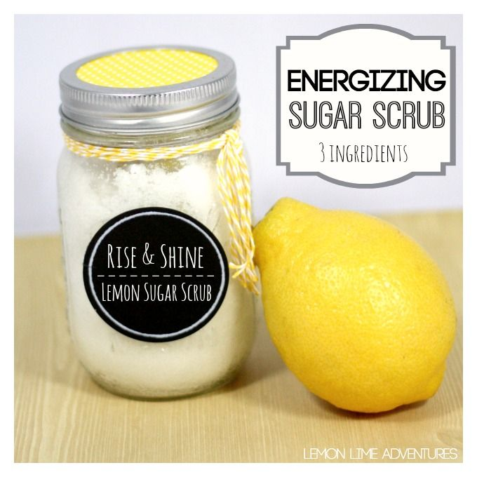 Have you ever woke up in the morning and wished someone or something could magically get you going? This lemon sugar scrub is a simple and easy to make energy boost.