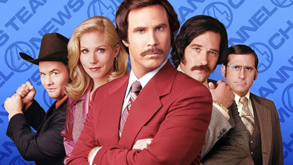 Anchorman: The Legend Continues Teaser Trailer starring Will Ferrell and other quirky colleagues