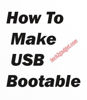 This article will help you to install windows through USB .So Check this out