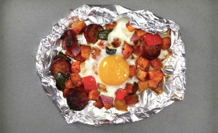Dit zoete aardappelgerecht is perfect als gezonde brunch!