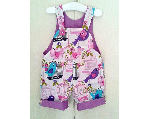 SWEET COMFY Romper sewing pattern Overall Dungaree Pdf by PUPERITA