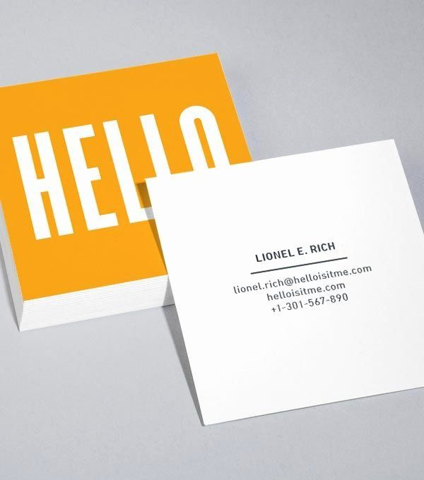 Square Business Card Template Free Inspirational 25 Best Ideas About Square Bu Square Business Cards Square Business Cards Design Business Card Template Design