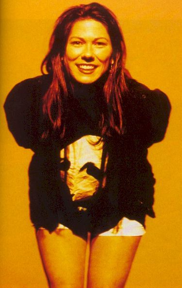 The Pixies bassist and vocalist Kim Deal <3