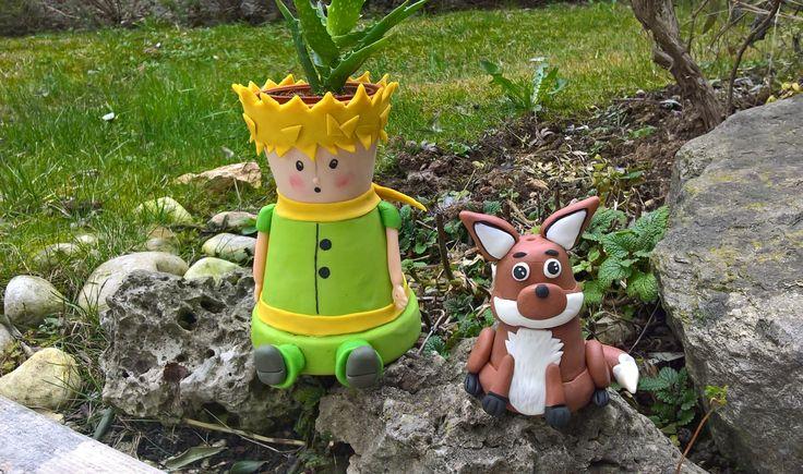 Il piccolo principe porta piantina e la volpe porta incenso.