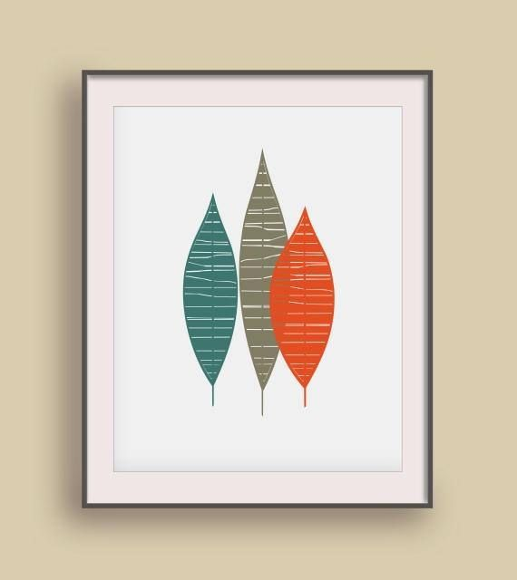Nature Wall printable Minimalist living Mom gift from son