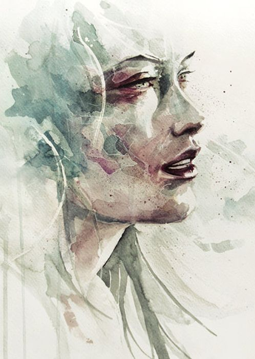 Agnes Cecile / just two colors used but still so effective