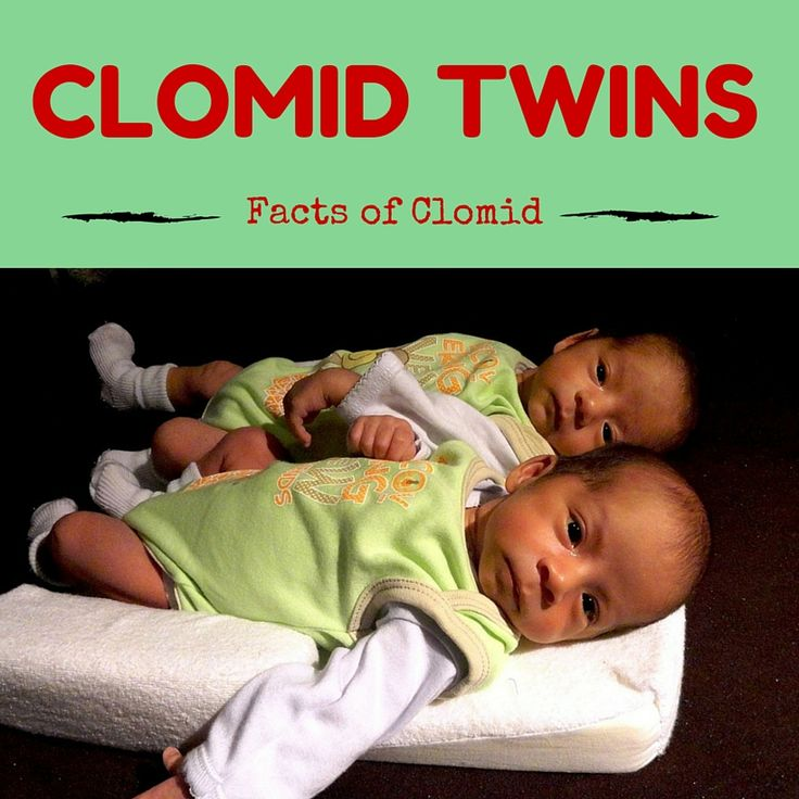 Clomid pcos and twins