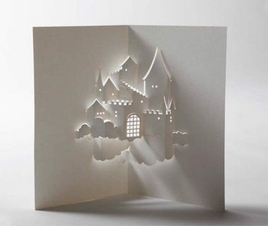 Illusion: Pop-up art by Jackie Huang. http://illusion.scene360.com/news-community/castle-in-the-sky/