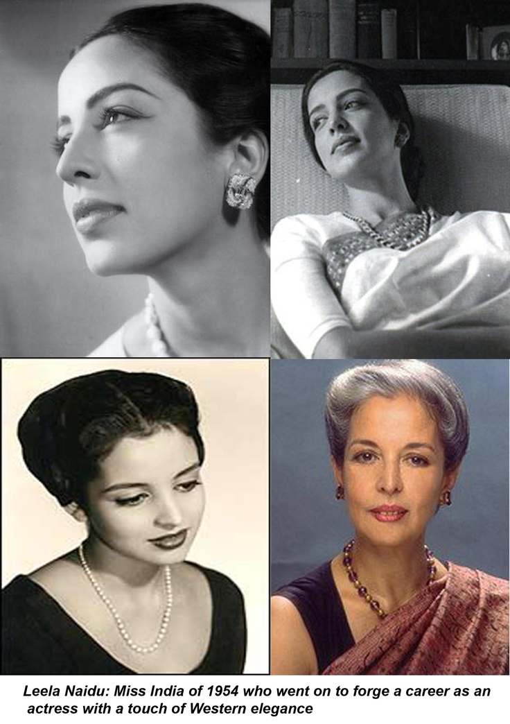 Leela Naidu- One of my favourites.... Such elegance and stunningly beautiful. Miss India of 1954