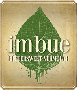 Imbue, Bittersweet Vermouth, made in Portland, Oregon (A / O /USA)