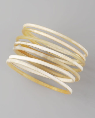 Nest Horn - Bangles Set of 7 #15things #trending #style #armparty