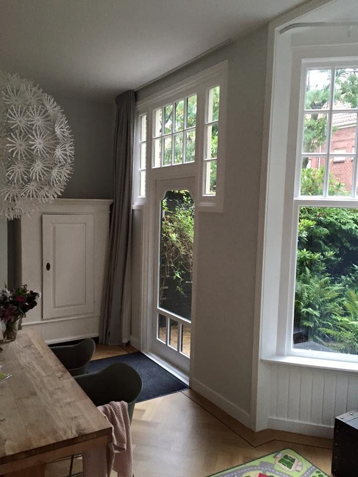 Binnenkijken bij Caroline in Haarlem. #linnen #gordijnen #linnnegordijnenshop