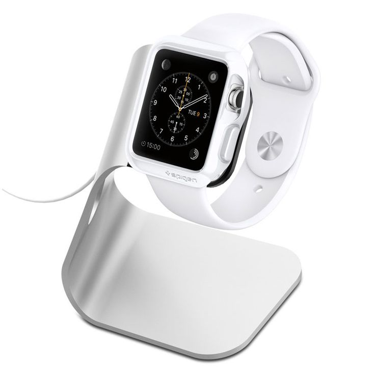 Spigen Apple Watch Stand S330 for Apple Watch 42MM, Watch 38MM - Apple iPhone Cradles - iMore Store