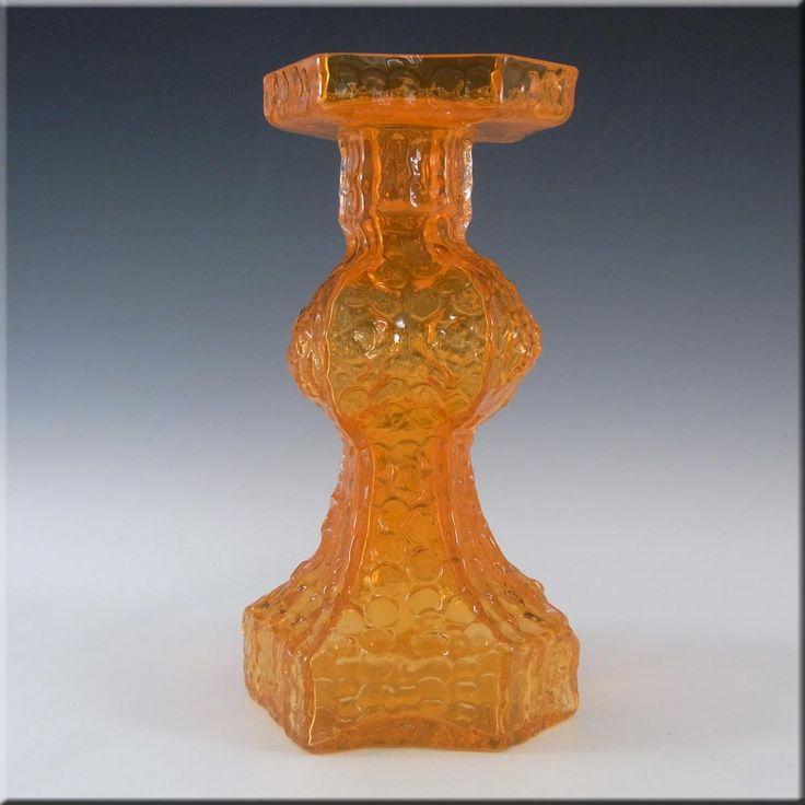 Riihimaki/Riihimaen Glass Nanny Still Candida Vase #1947 - £200.00