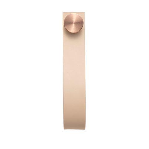Stropp 2 pcs, nature # copper (Available 1st April)