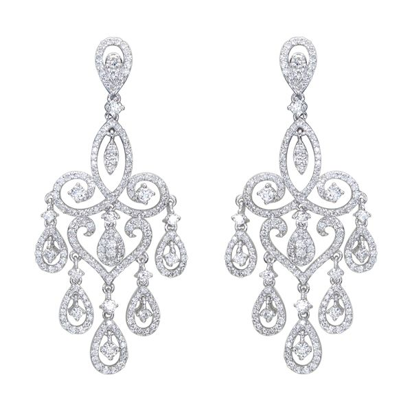 Red Diamond Chandelier Earrings: 25+ Best Ideas About Diamond Chandelier Earrings On
