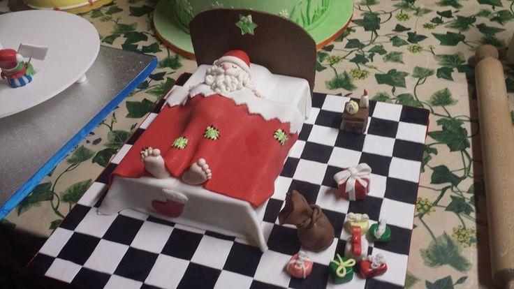 Sleeping Santa Claus Babbo Natale, prima di mezzanotte...