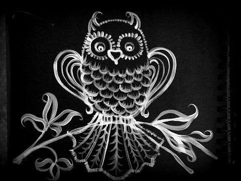 How to draw an owl. Как нарисовать сову. - YouTube