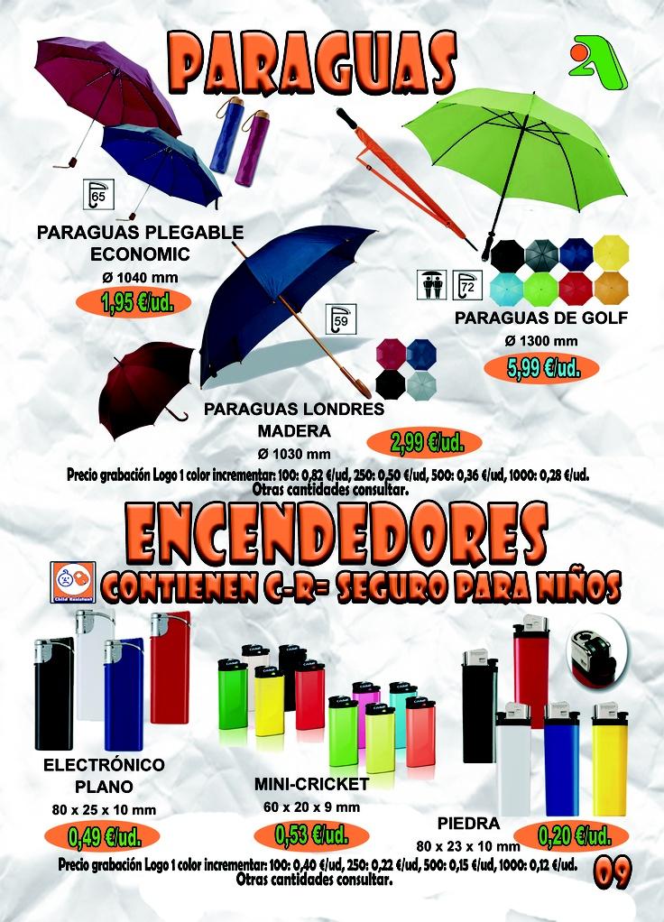 PARAGUAS & ENCENDEDORES - Página 9 — en 2A Promociones Publicitarias.