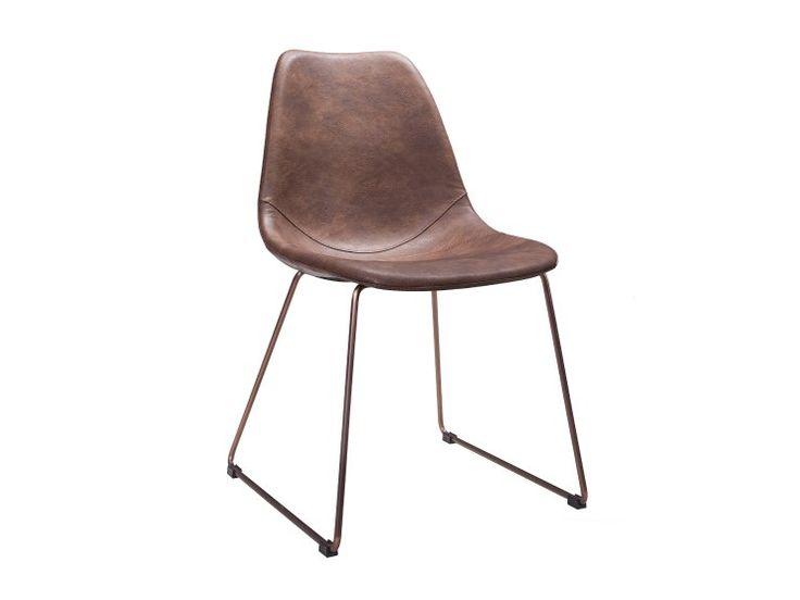 ARTEMIS Stol 2 Vintagebrun/Koppar - Matstolar - Stolar - Inomhu