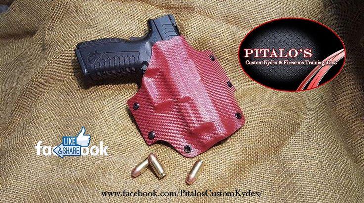 XDM 40 (4.5 inch) OWB Holster: Pitalo's Custom Kydex OWB Kydex Holster 1.50 Belt Loops by PitalosCustomKydex on Etsy https://www.etsy.com/listing/450242406/xdm-40-45-inch-owb-holster-pitalos