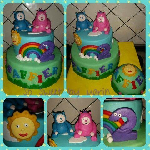 Baby tv billy & bam bam cake