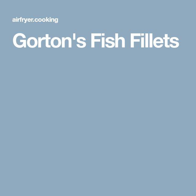 Gorton's Fish Fillets